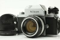 ⭐N.MINT⭐Nikon F Photomic FTN Silver SLR Camera w/ Nikkor S 50mm f/1.4 from Japan