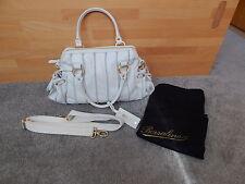 BORSALINO Tasche Handtasche Shopper Leder weiss Modell Michelle NEU