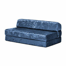 Up to 2 Velvet Solid Pattern Sofa Beds