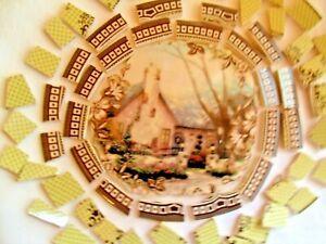 Broken China Mosaic Tiles - THOMAS KINKADE COTTAGE mosaic tiles