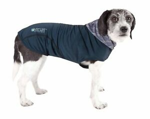 Pet Life  Active 'Pull-Rover' Premium 4-Way Stretch Two-Toned Performance Sle...