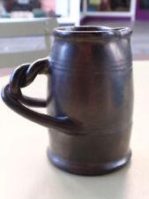 Black Earthenware Studio Pottery