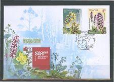 2011. Belarus. Flora. Endangered plants of Belarus. FDC