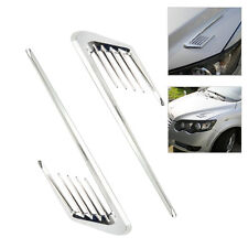 Car Side Air Flow  Vent Fender Cover Hole Intake Duct Grille Decoration Sticker