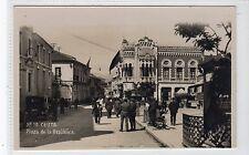 PLAZA DE LA REPUBLICA, CEUTA: Morocco postcard (C19349)