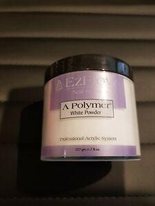 Ezflow acrylic powder White 227 grams