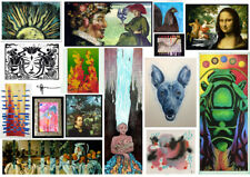 """One Custom Piece of Art for You :: 2.5"""" x 3.5"""" ACEO :: See more specifics within"""