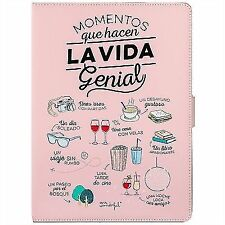 "Mr Wonderful funda tablet 10.1\\\"" momentos Rosa"
