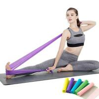 1pc TPE 150cm Elastic Exercise Workout Fitness Stretching Yoga Resistance Bands