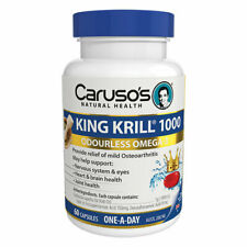 Caruso's King Krill 1000mg 60 Capsules