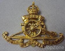 Riproduzione SECONDA GUERRA MONDIALE King's Corona Reale Artiglieria