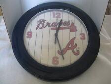 Atlanta Braves Wall Clock ~ Gift Idea