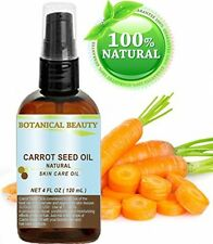 CARROT SEED OIL 100 % Natural Cold Pressed Carrier Oil. 4 Fl.oz.- 120 Ml. Skin,