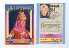 Barbara Eden Hollywood Walk Of Fame card I Dream Of Jeannie number 102 MINT