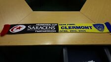 Saracens V Clermont Rugby Supporters Scarf
