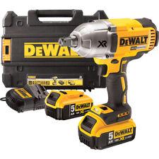 Dewalt DCF899P2-GB Impact Wrench High Torque 18V Cordless Brushless - 2 x 5Ah