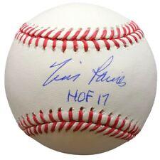 Tim Raines Expos Signed MLB Baseball HOF 17 w/ Free Ball Cube JSA