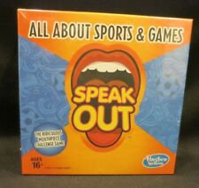 New Sealed Hasbro Gaming Speak Out Expansion Pack All About Sports and Games