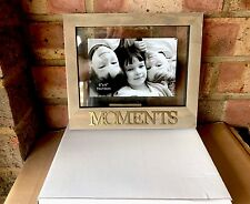 "MOMENTS WOODEN RUSTIC FLOATING 6"" x 4"" PHOTO FRAME BY SHUDEHILL GIFTWARE"