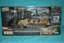 Forces Of Valor Unimax 1:32 WWII German Halftrack 8t SdKfz.7 Normandy 1944 DDay