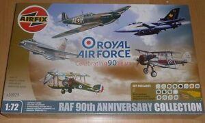 Airfix A50029 1:72 Bausatz Royal Air Force 90th anniversary collection 5 Flugz.