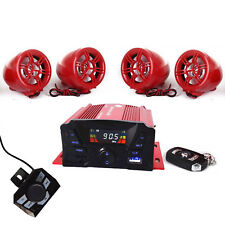 **Golf Car Cart MP3/Bluetooth Player Speaker FM Radio AMP Stereo WRemote Control