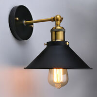 Vintage Bathroom Wall Sconce Light Fixture Industrial Vanity Metal Mount Rustic