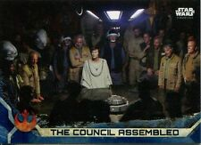 Star Wars Rogue One Series 2 Blue Base Card #41 The Council Assembled