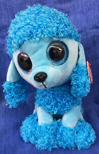 W-F-L TY Boos Mandy 9 1/8in Dog Poodle Glubschi Boo ´ S