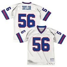 Lawrence Taylor NY Giants Mitchell   Ness Jersey White Sz 2xl 52 d3842c524