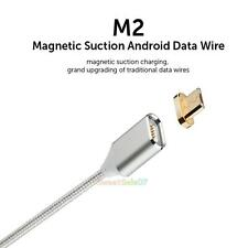 2.1A Micro USB Magnetic Charging Cable Adapter Charger for Samsung Android Phone