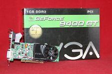 EVGA Nvidia GeForce 9400 GT, 1GB DDR2, PCI Graphics Card (01G-P1-N948-LR)
