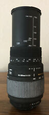 Sigma DG 70-300mm Auto Focus Lens For Motorized Nikon Camera 4.0-5.6