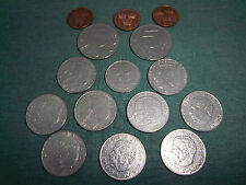 Lot of 15 Sweden Coins from 1969-2000 Gustaf VI Carl XVI Kronor Ore Coin Collect