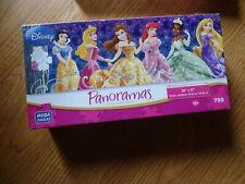 Disney Princess Panoramas 750 Piece Puzzle by Mega Brands VHTF