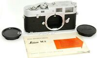 LEICA M2 35mm Rangefinder Camera Body Made by LEITZ Wetzlar in 1959 (Excellent+)