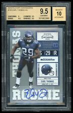 2010 Playoff Contenders - Earl Thomas - #135 - Rookie - Autograph - BGS 9.5