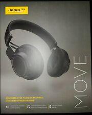 Jabra Move Style Wireless Bluetooth Over-Ear Headphones |BRAND NEW SEALED