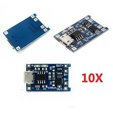 10pcs 5v 1a Micro USB 18650 Lithium Battery Charging Board Charger Module