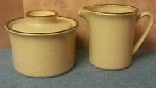 Kaleido Stoneware Creamer and Sugar Bowl - Japan