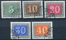 "Schweiz ""PAX - Waffenstillstand"" Nr. 447/459 gestempelt"