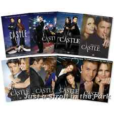 Castle: Nathan Fillion Complete Series Seasons 1 2 3 4 5 6 7 8 Box / DVD Set(s)