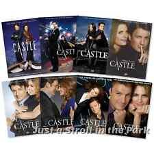 Castle: Nathan Fillion Complete Series Seasons 1 2 3 4 5 6 7 8 Box / DVD Set(s)