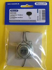 neu Massoth Lautsprecher 2Watt/8 Ohm 40 x 40mm  passend zu vielen Decodern