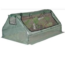 6ft 1.8M Greenhouse with roll up window Polytunnel Durable PE Foil Grow house