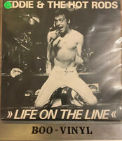 """Eddie and The Hot Rods 12"""" Vinyl Life On The Line 1978 Island limited edition Ex"""
