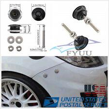 4*Universal 30mm Quick Release Latch Fastener Hood Push Billet Pin Lock
