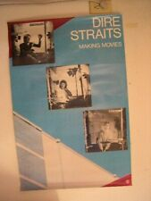 The Dire Straits Poster Making Movies Old