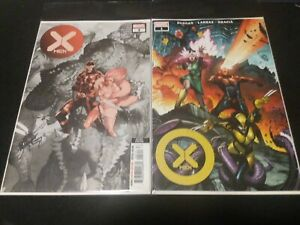 X-Men #1 and #3 2021 Modern Age Amazing Quality!