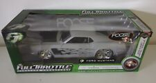 1:20 ERTL Foose Design Full Throttle 1970 Ford Mustang - Primer Grey w/ Flames
